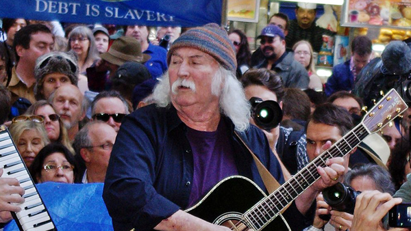 David Crosby Occupy Wall Street2011